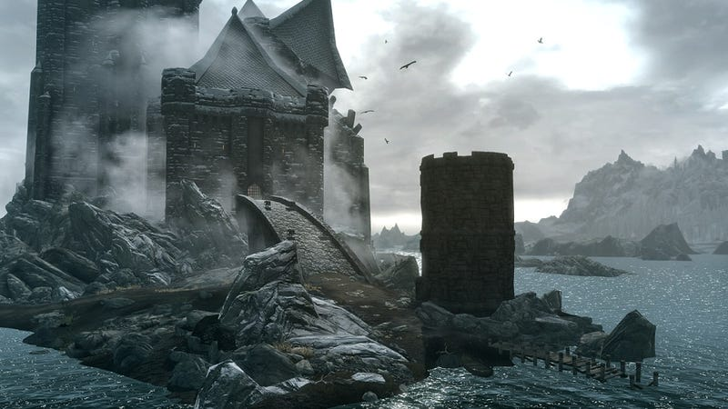 You Can Totally Be A Vampire In Skyrim's First DLC. Here's Proof.