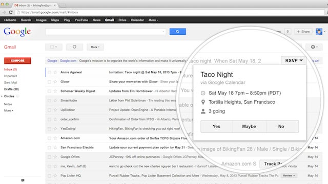 """Gmail Adds New """"Quick Action"""" Buttons, Helps You Act On Your Messages"""