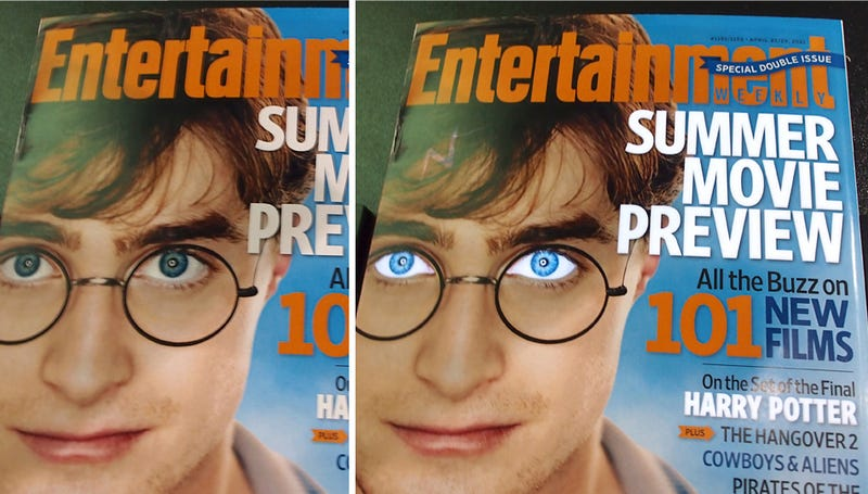 Wireless Power Lets Harry Potter Bewitch Me From a Magazine Cover