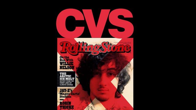 CVS Will Boycott the Dzhokhar Tsarnaev Rolling Stone Cover