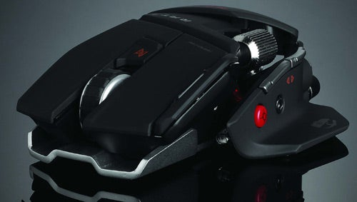 The Mad Catz Cyborg R.A.T. Mouse Is Jonathan Ive's Antichrist
