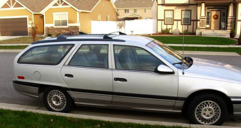 for 1 200 could this 1988 mercury sable wagon be the day. Black Bedroom Furniture Sets. Home Design Ideas