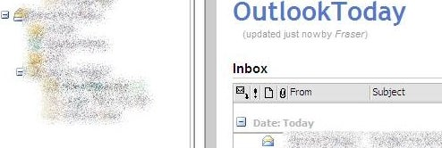 Integrate a Personal Wiki into Outlook's Today pane