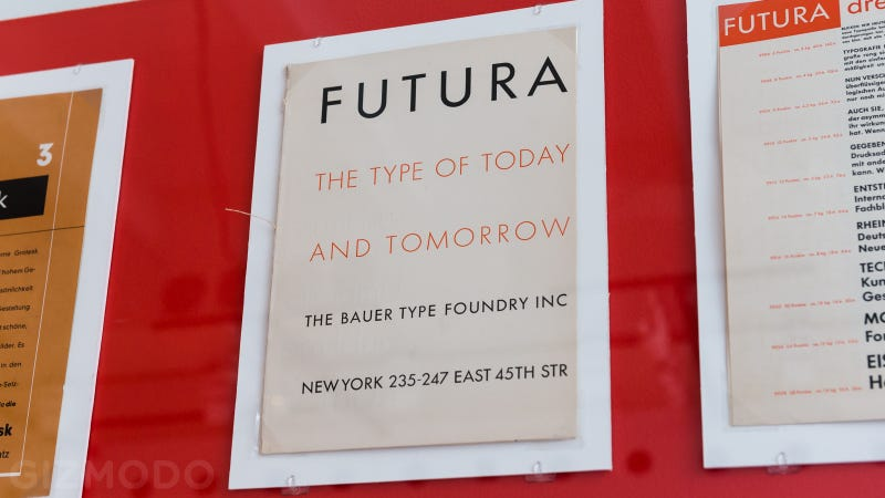 The History of Modern Type Design Plastered All Over a Single Room