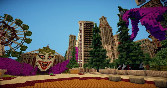 The Minecraft Server Where You're Greeted by The Joker