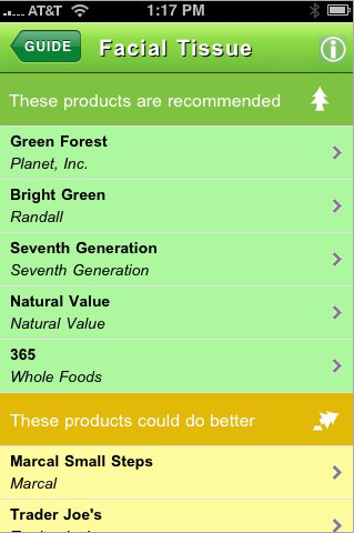 Greenpeace iPhone App Helps You Find The Best Recycled Toilet Paper