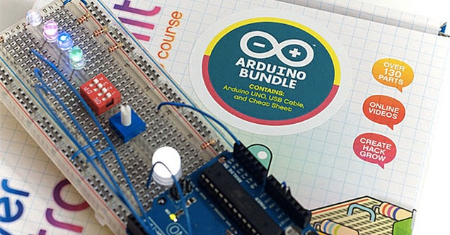 Unravel the Mysteries Of the Arduino With This Crash Course Starter Kit