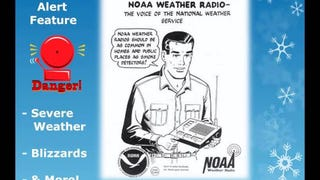 Listen to the National Weather Service's Awesome, Dorky Holiday Message