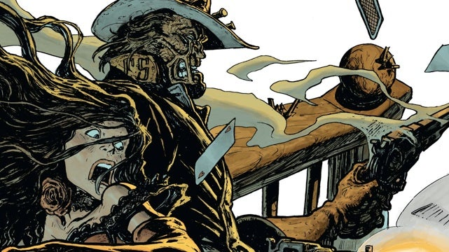 A sneak peek at Jonah Hex's next adventure in All-Star Western