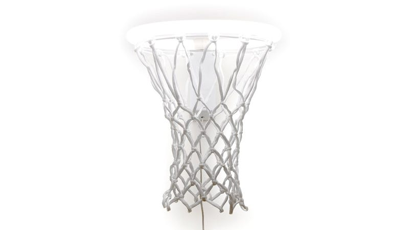 Basketball Hoop Lamp Is Most Certainly Not For Dunking
