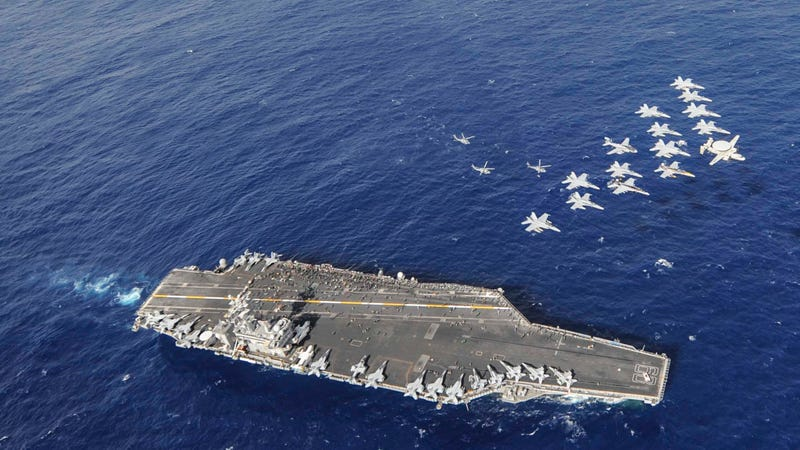 Here's a tiny fraction of the power of the mightiest navy in the world