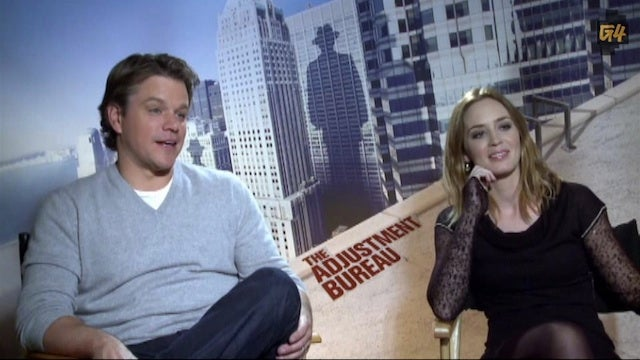 "Matt Damon on His Future in Politics: ""No, I Inhaled!"""