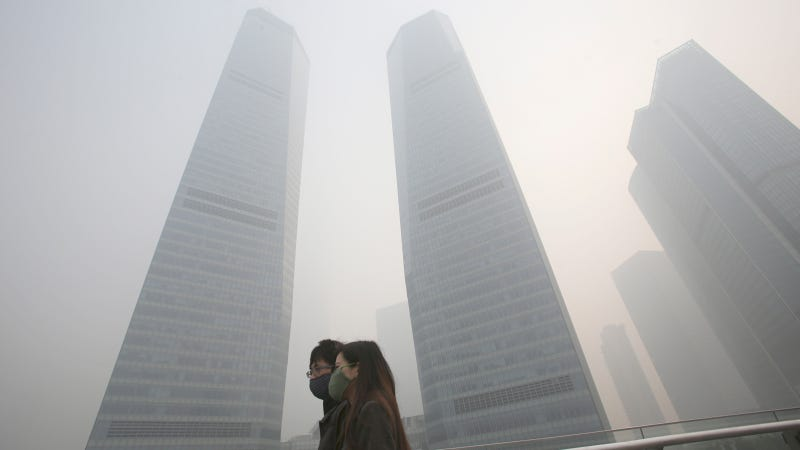 Shanghai Has Become A Smog-Filled Dystopian Nightmare