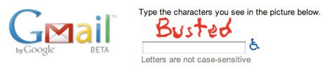 Gmail CAPTCHA Cracked in Teams; Bots Get 'Tude