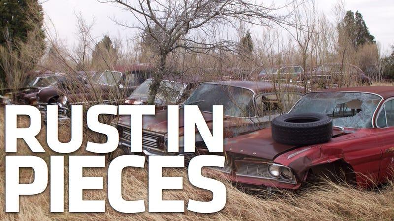 Inside the 1,000-car Texas graveyard