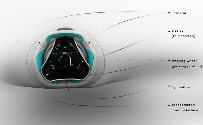 Automotive Cockpit Concept Punishes Bad Driving With Hasselhoff Tunes