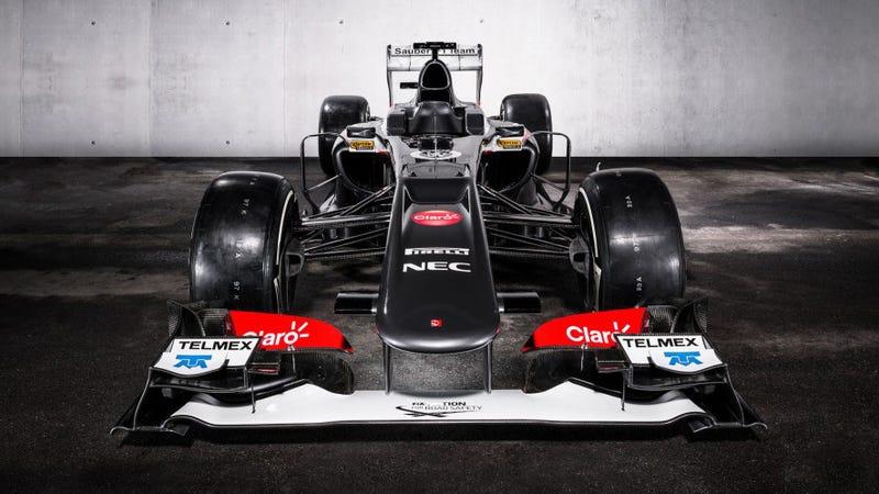 The Sauber C32 Is One Smoking Hot Ferrari