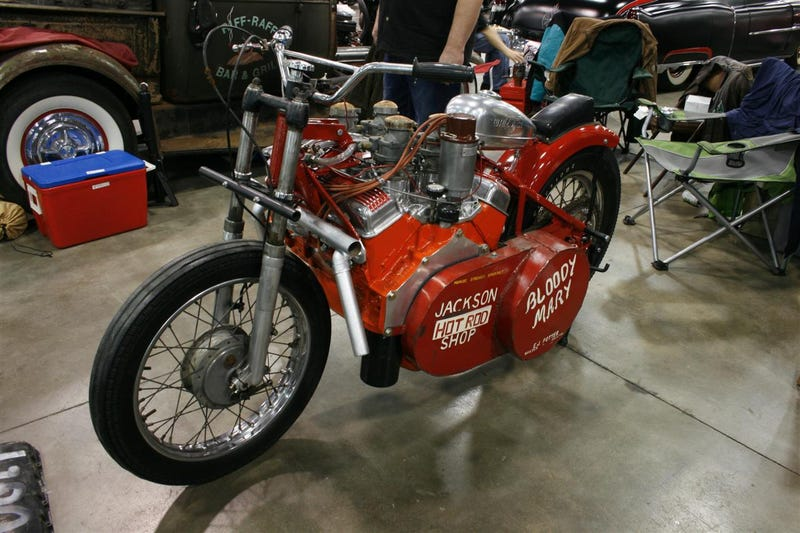 E.J. Potter's Bloody Mary To Dodge Tomahawk: Eat It!