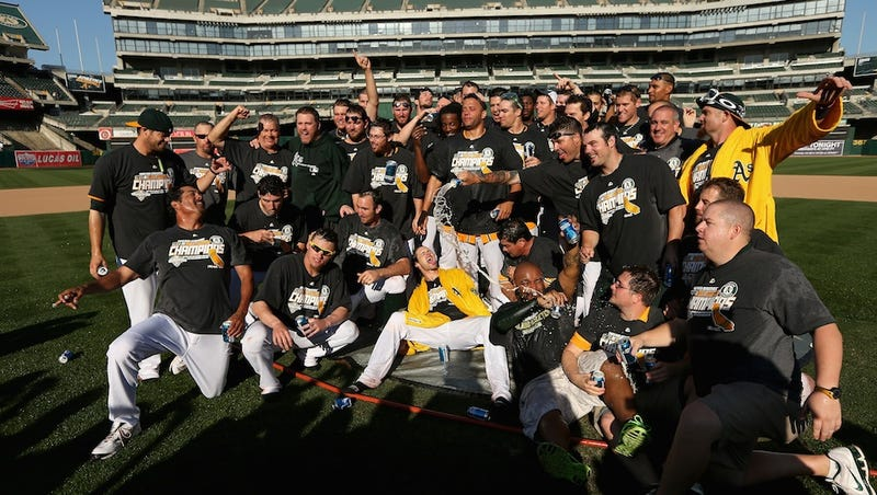 The Oakland A's Cap Off An Incredible Late-Season Comeback And Win The AL West