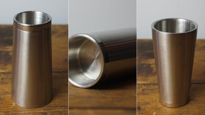 Streamline Your Boozing With a Two-in-One Shot Glass/Beer Stein