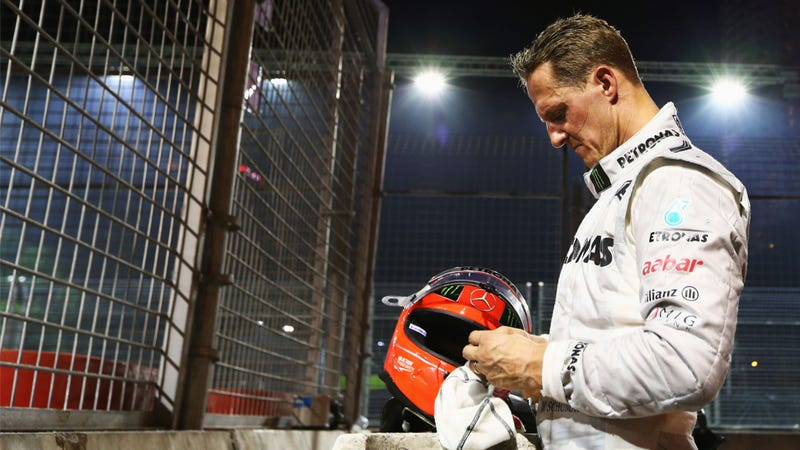 Michael Schumacher Will Lap The Nürburgring In An F1 Car