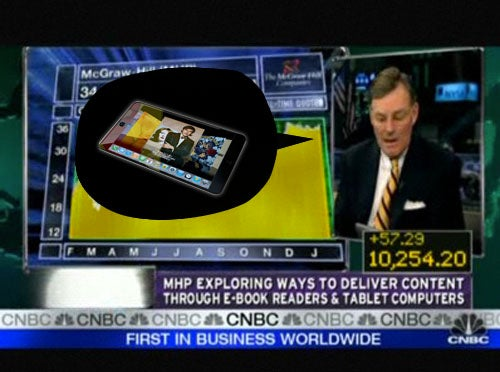 McGraw-Hill CEO Confirms Apple Tablet With iPhone-Style OS