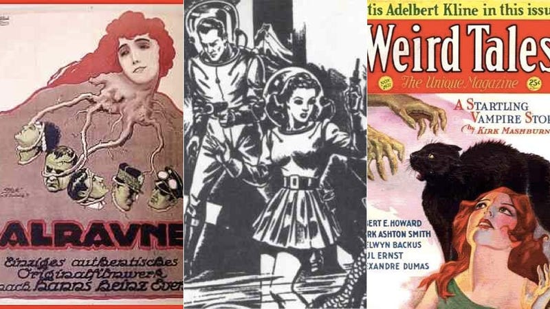 Badass Women of the Pulp Era
