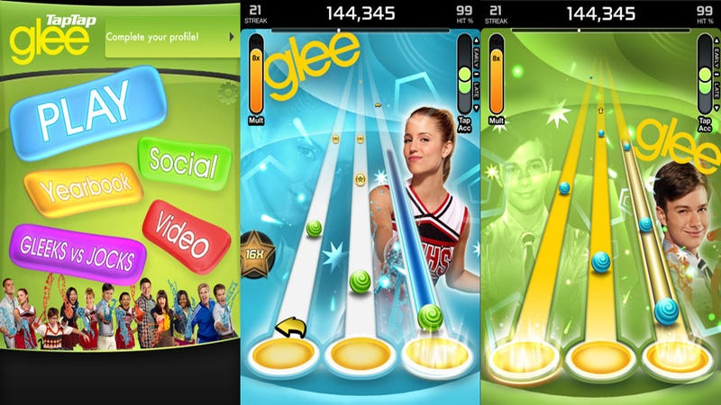 No One Needs to Know You Downloaded Tap Tap Glee