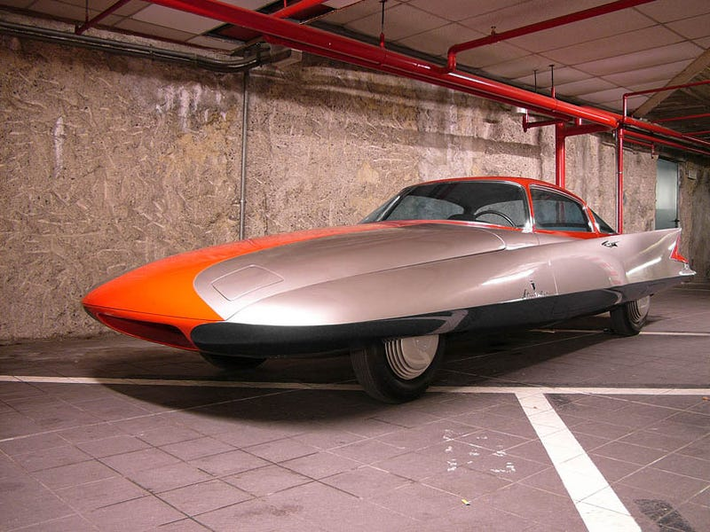 Ghia Gilda Streamline X Coupé: Coolest Chrysler Ever Made