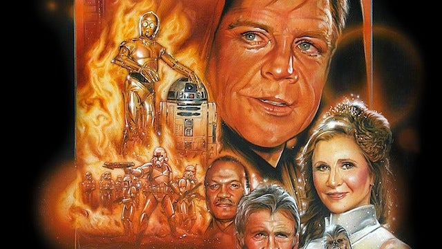 This Portrait of Old Star Wars Actors Should Be the Movie Poster for Star Wars Episode VII