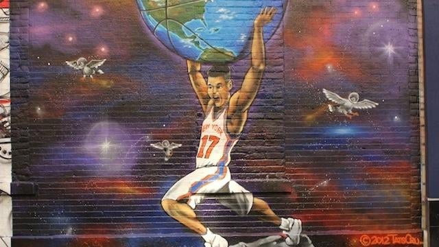 Linsanity Is Now New York City Street Art