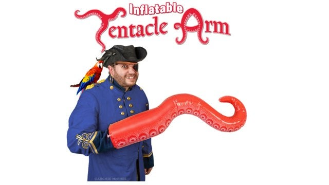 Inflatable Tentacle Arm is the best gift of 2011