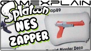 Rumor: NES Zapper in <i>Splatoon</i>