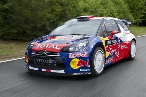 Citroën DS3 WRC With Its Clothes On