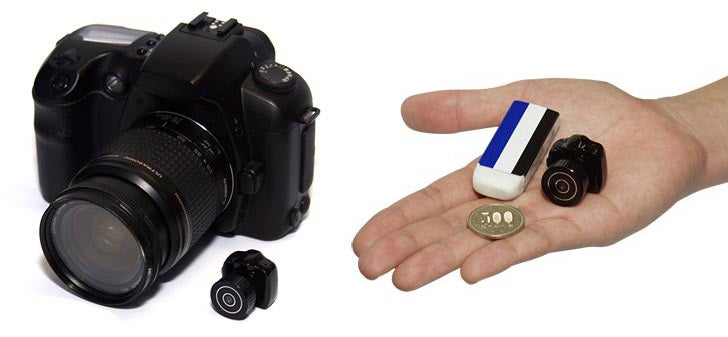 When Is a DSLR Smaller Than a Micro Four-Thirds? When It's a Tiny Spy Camcorder, That's When