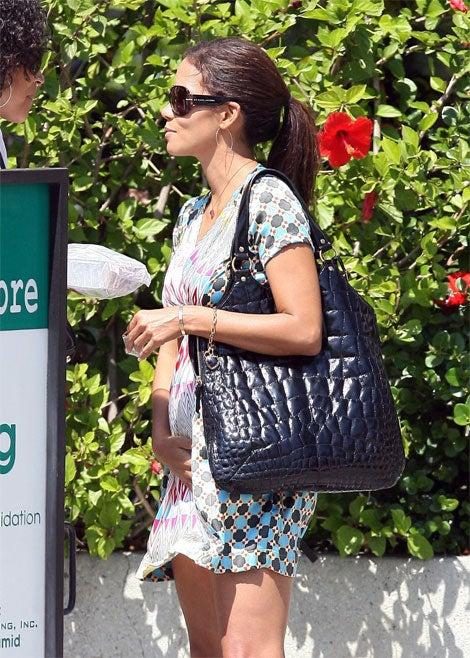 Halle Berry: Pregnant? Or Crampy?