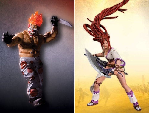 Twisted Metal, Heavenly Sword Action Figures Ship A Little Late