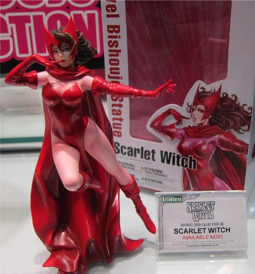 The Sexiest New Action Figures: Marvel Anime Babes, Power Girl And Captain Jack