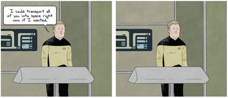 Hilarious comics prove O'Brien had the crappiest job on the Enterprise
