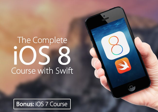 Learn To Build iPhone Apps – 91% Off The Complete iOS 8+Swift Dev Course