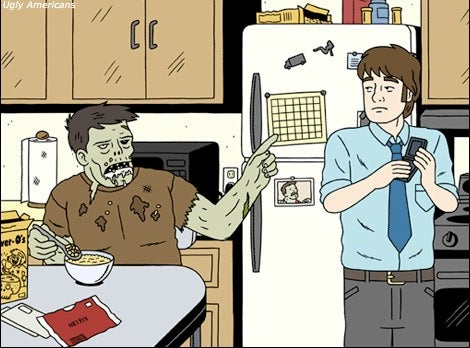 Comedy Central's Zombie Social Worker Wants To Get You Off Brains