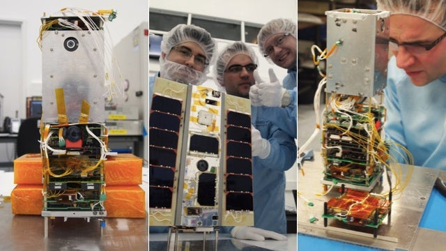 UK Scientists Are Launching a Satellite Powered By... a Google Nexus One?