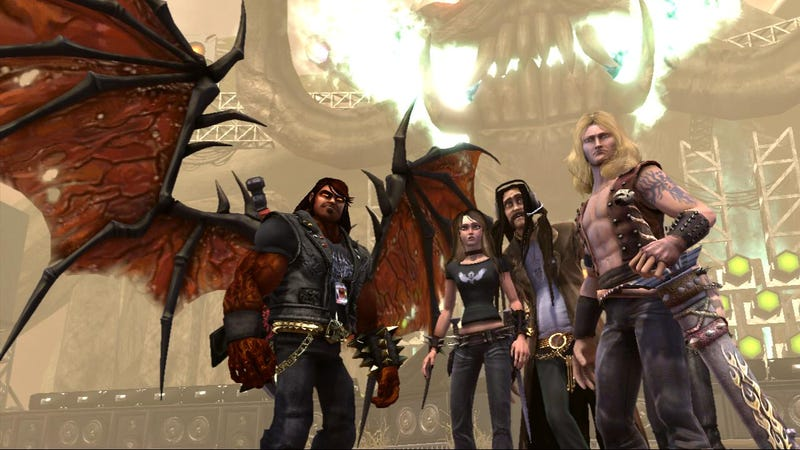 Brutal Legend: Battle of the Bands... With Axes... Real Axes