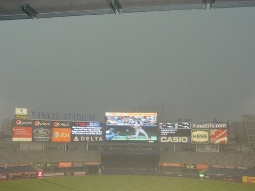 No One Really Knows If The Angels-Yankees Game Will Be Played Tonight Or Not