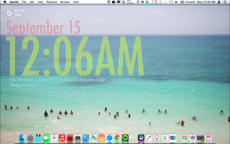 ios7 inspired desktop