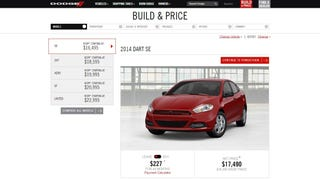Dodge finally updated their configurator!