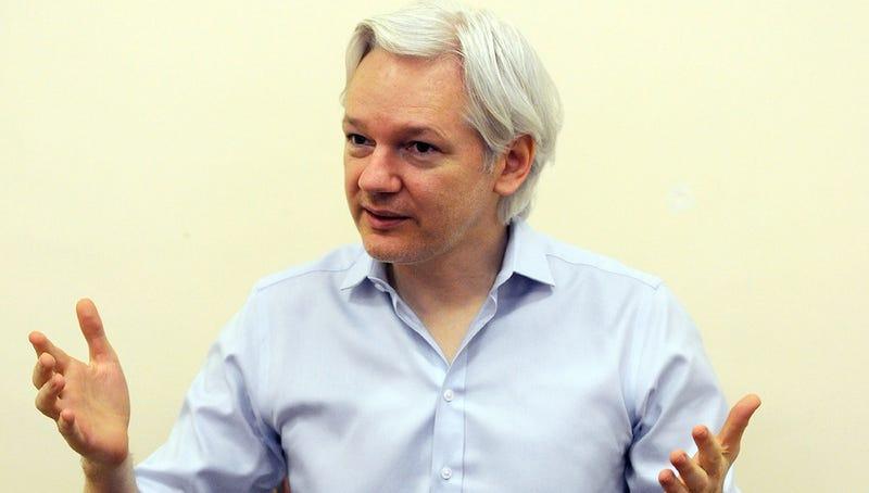 Julian Assange Jumps On The Snowden Leak