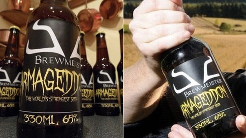 The World's Strongest Beer Has 65% Alcohol Content