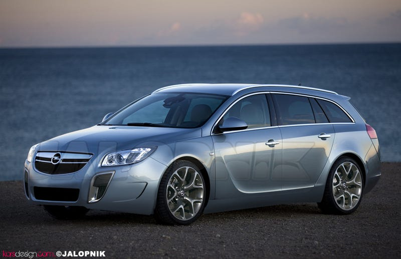 Opel Insignia SportTourer OPC: An Audi S4 Avant-Fighter