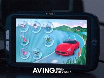 Freenex DMX-760 Navigator, Now With DMB Picture-in-Picture
